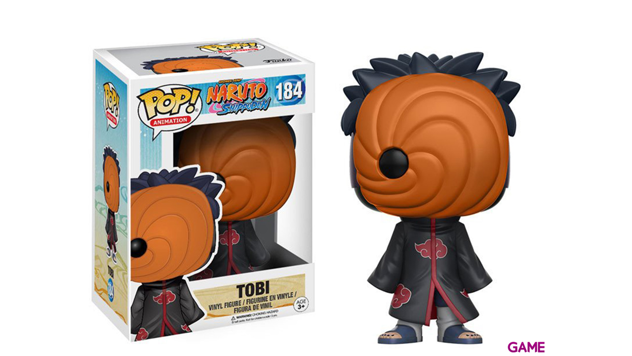 Figura Pop Naruto: Tobi