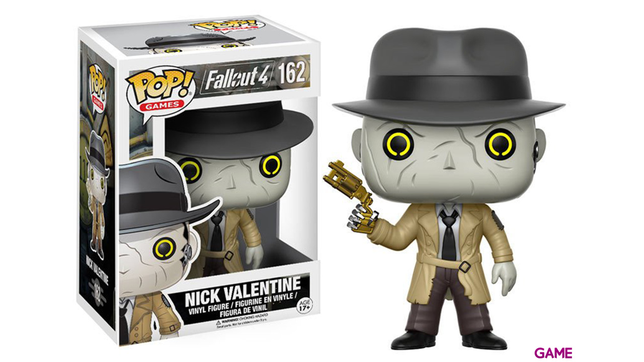 Figura Pop Fallout: Nick Valentine