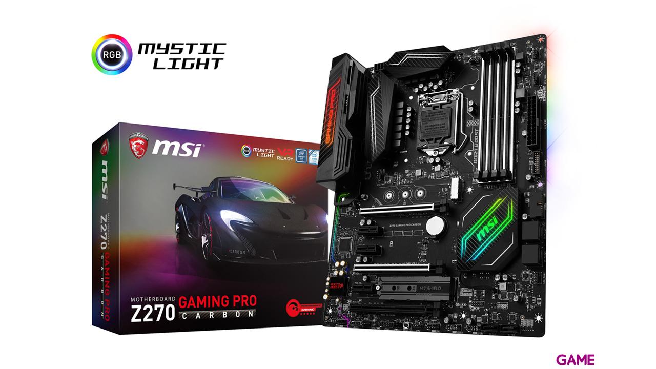 MSI Z270 Gaming Pro Carbon SK1151