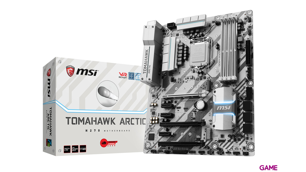 MSI H270 Tomahawk Arctic LGA1151 ATX