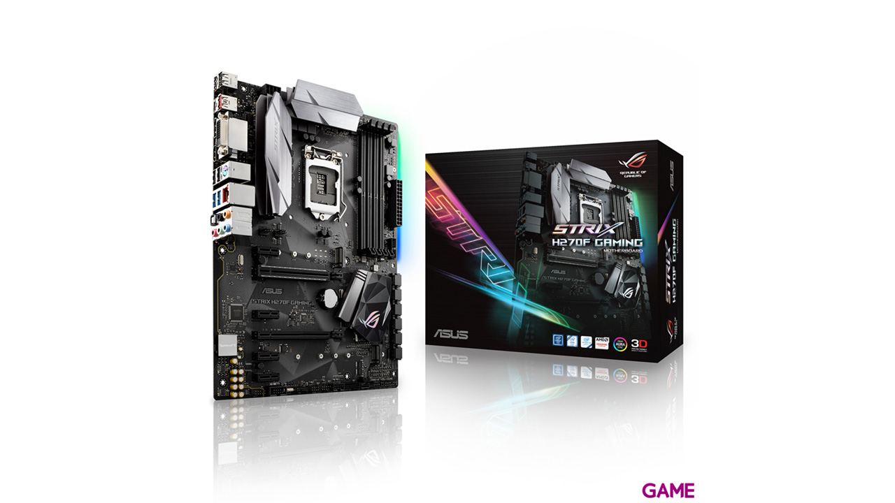 ASUS Strix H270-F Gaming LGA1151 ATX