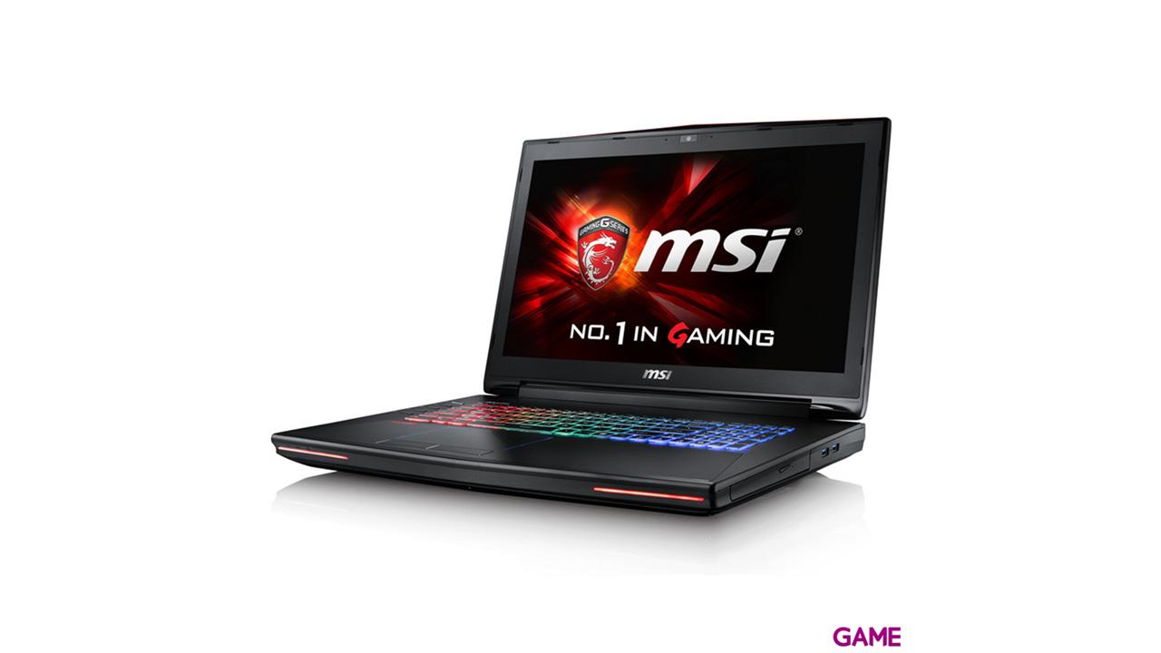 MSI GT72VR 7RE-461XES - i7-7700 - GTX 1070 - 16GB - 1TB HDD + 256GB SSD - 17.3'' - FreeDOS - Dominator Pro