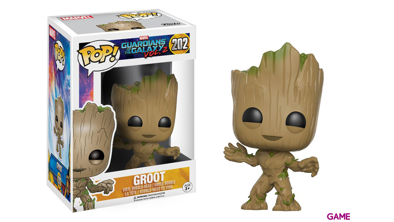 Figura POP Guardianes de la Galaxia 2: Baby Groot
