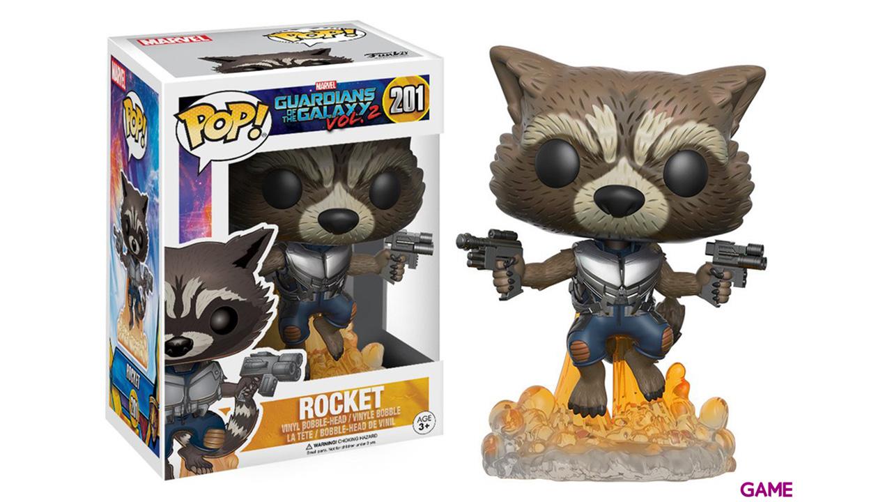 Figura POP Guardianes de la Galaxia 2: Rocket