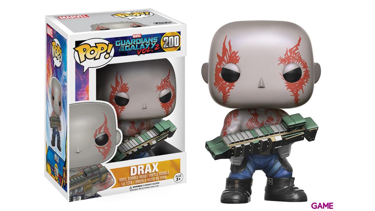 Figura POP Guardianes de la Galaxia 2: Drax