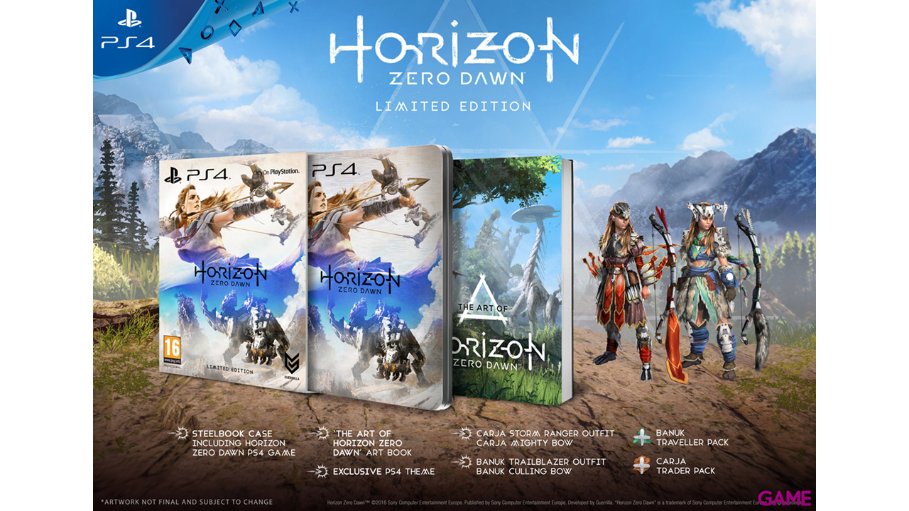 Horizon: Zero Dawn Ed. Limitada
