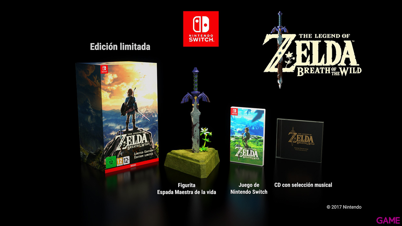 The Legend of Zelda: Breath of the Wild (Edición Especial)