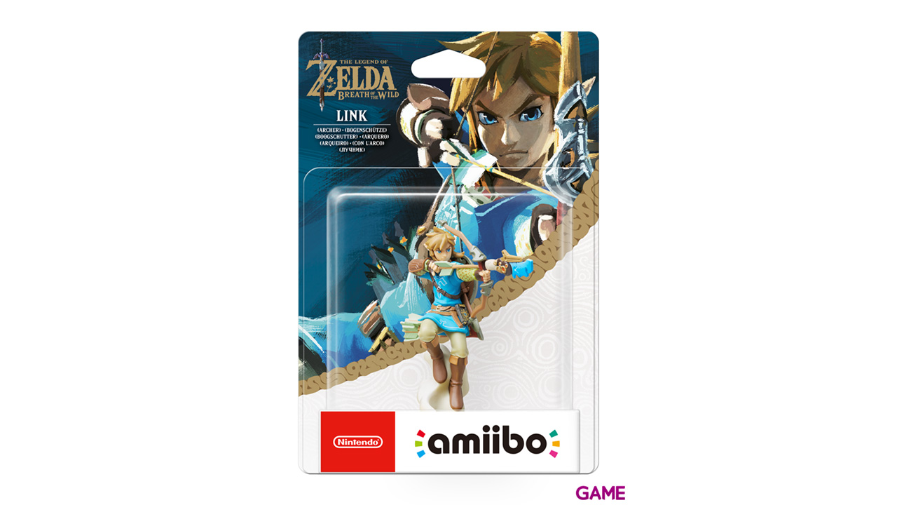 Figura amiibo Link Arquero (colección Zelda)