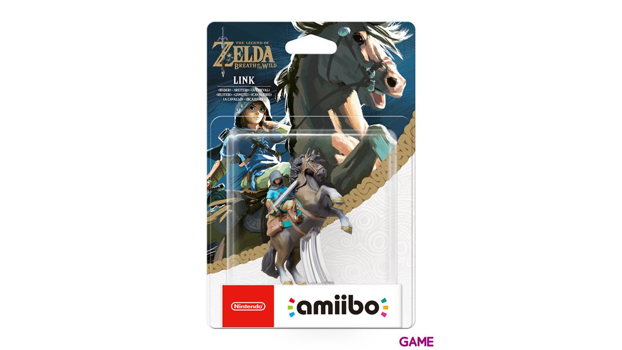 Figura amiibo Link Jinete (colección Zelda)