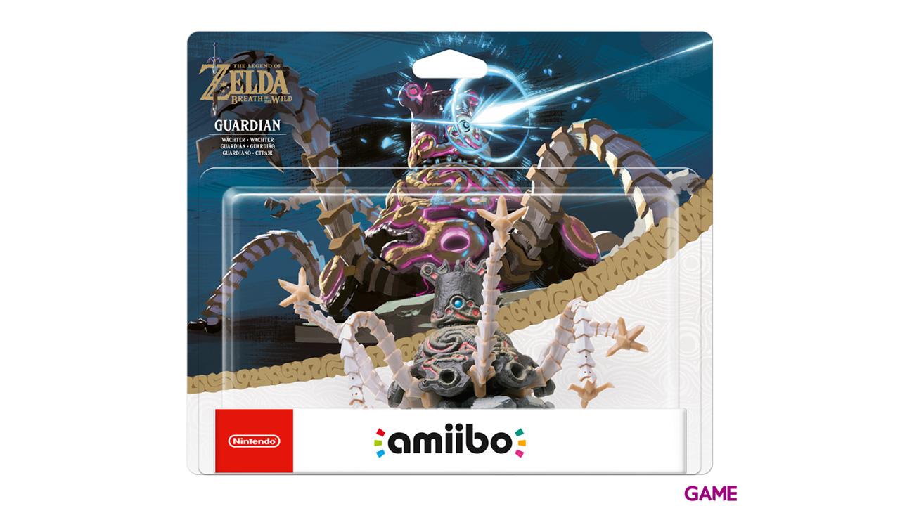 Figura amiibo Guardian (colección Zelda)