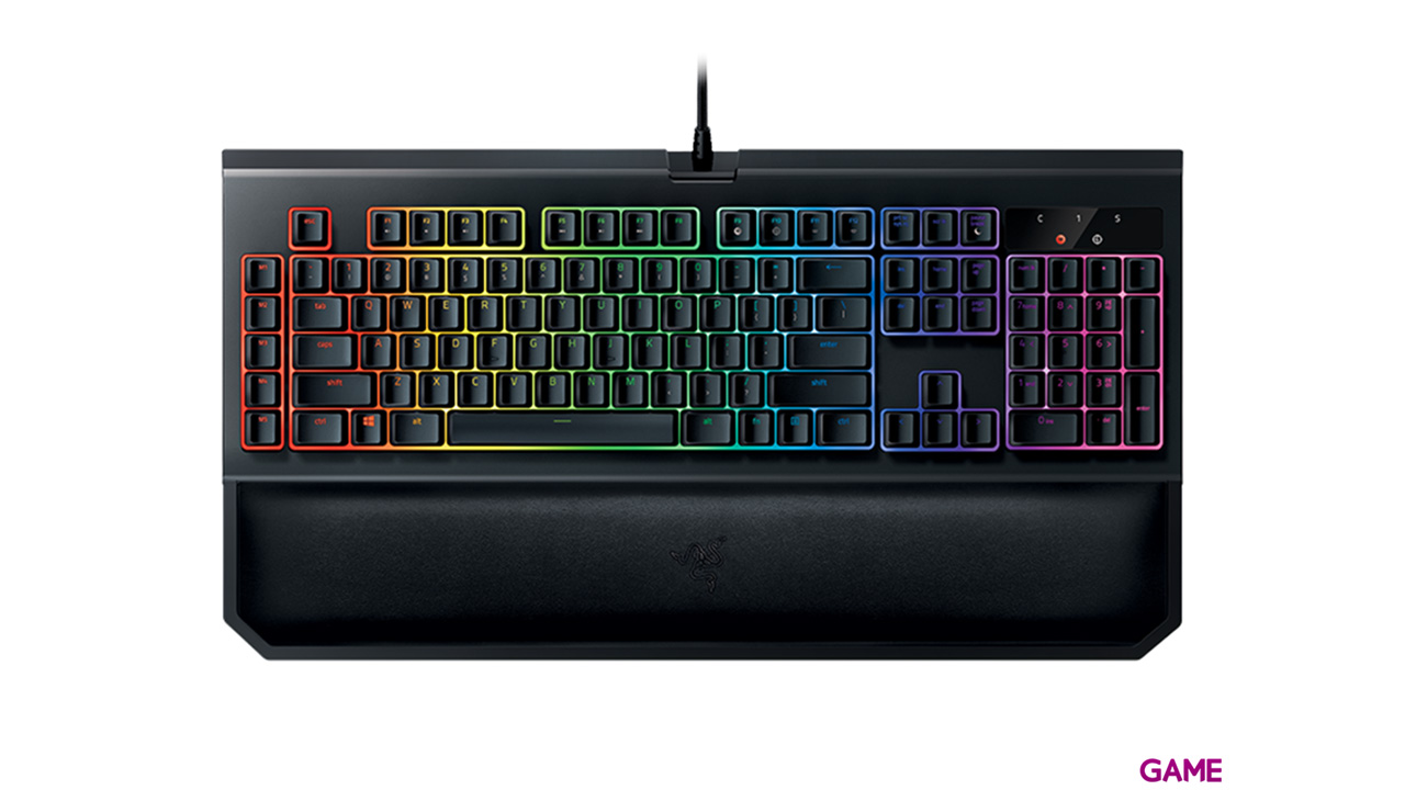 Razer Blackwidow Chroma V2 Mecánico Switch Green ES RGB
