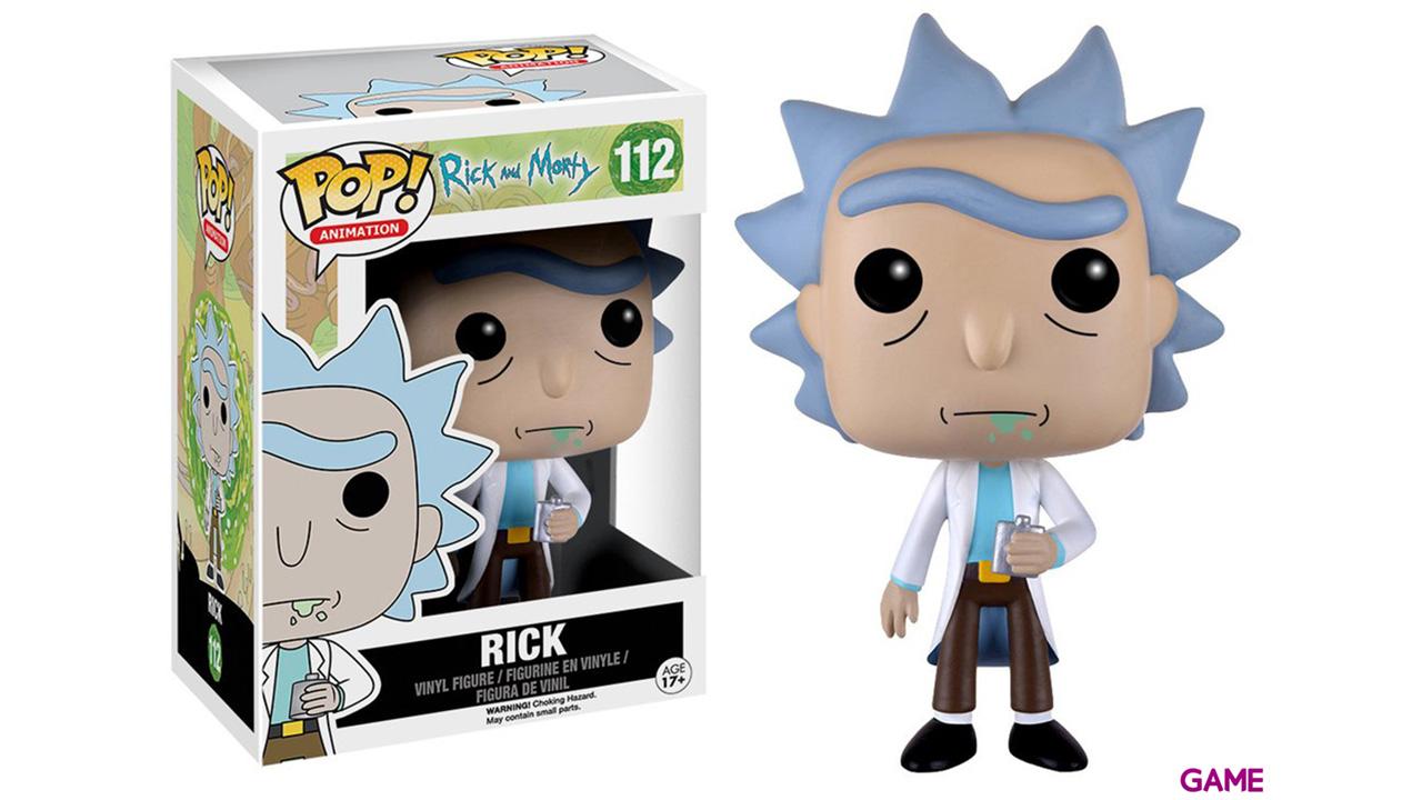 Figura Pop Rick y Morty: Rick