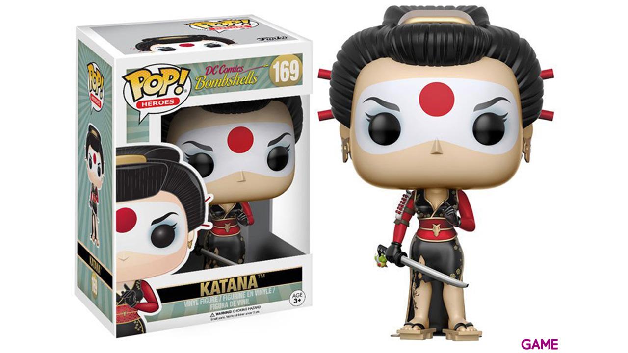 Figura Pop DC Bombshells: Katana
