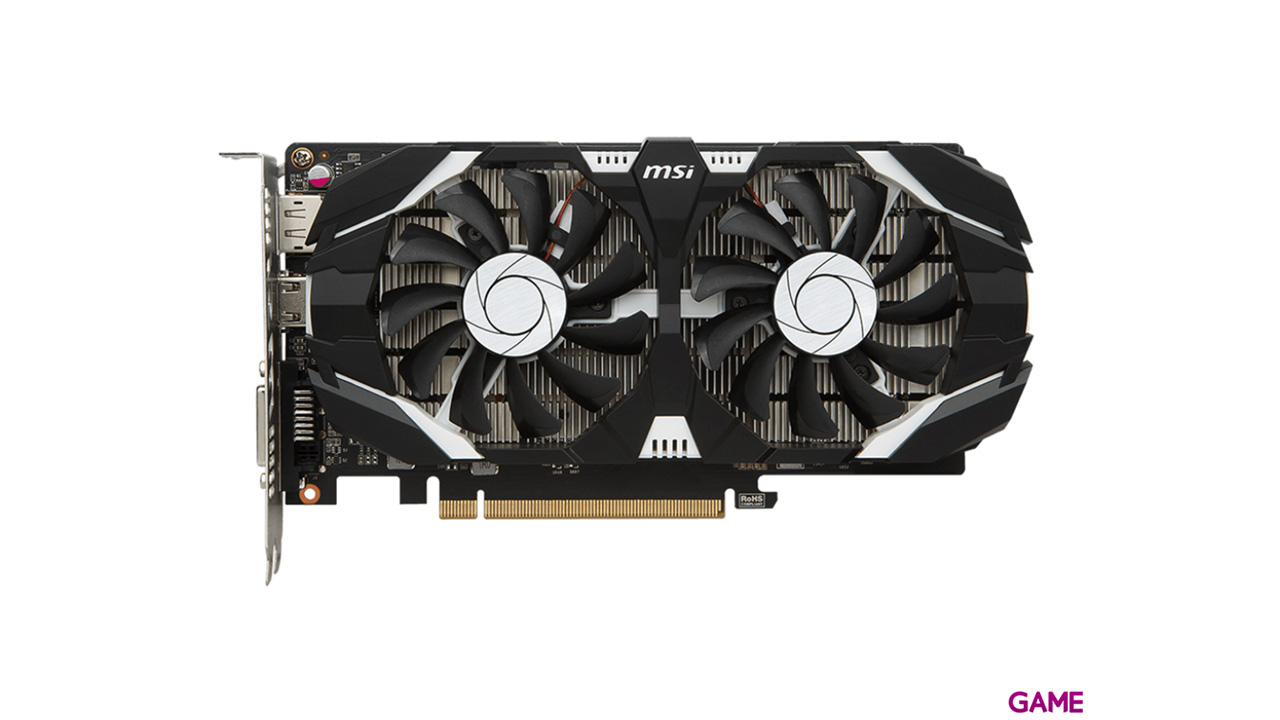 MSI GeForce GTX 1050 Ti 4GT OC 4GB GDDR5