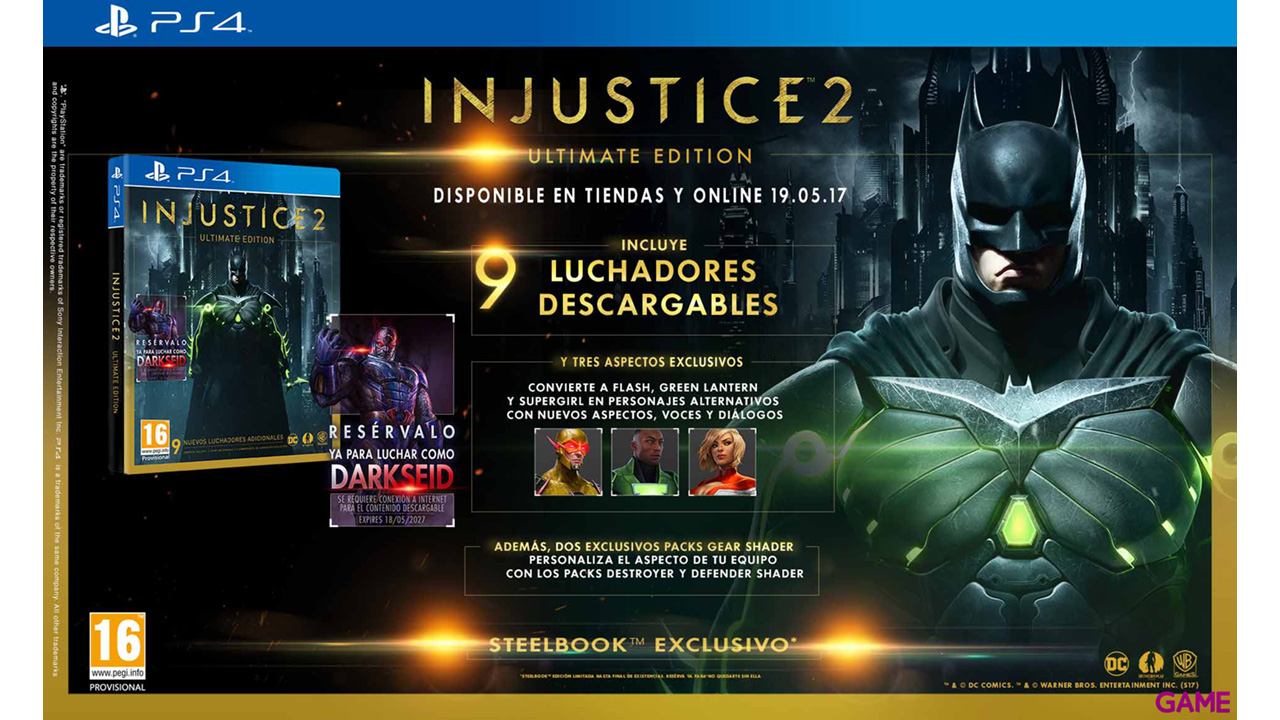Edición Ultimate de Injustice 2