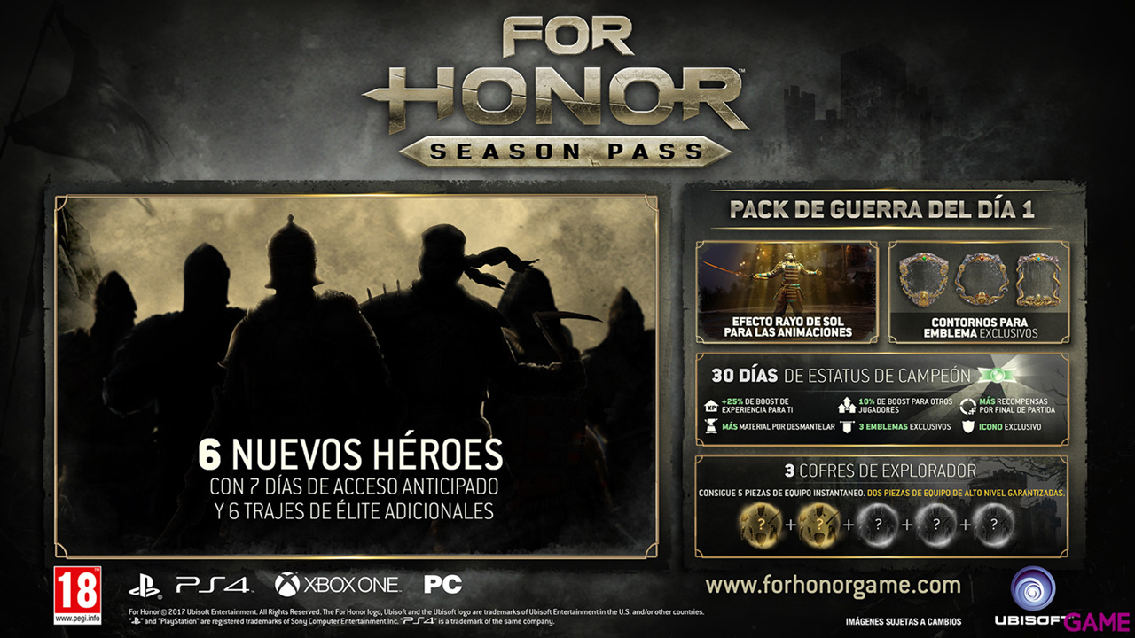 For Honor Season Pass PS4