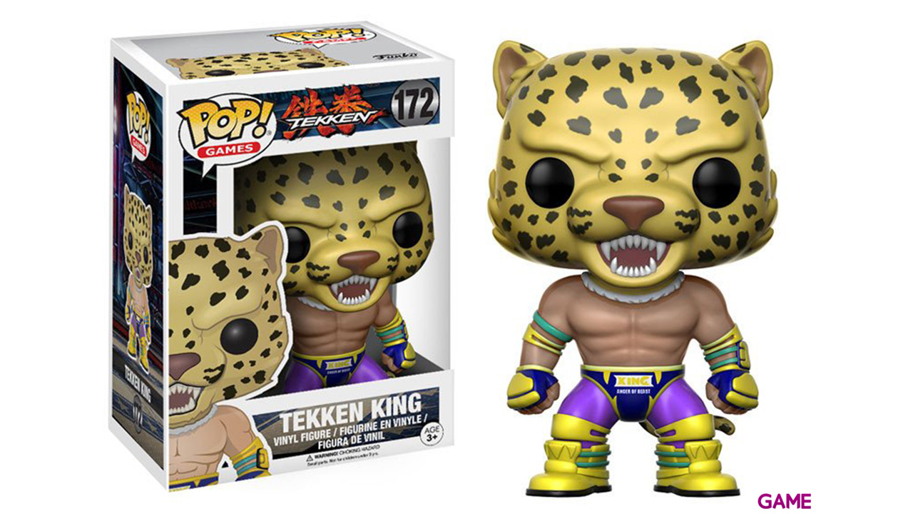 Figura Pop Tekken: King
