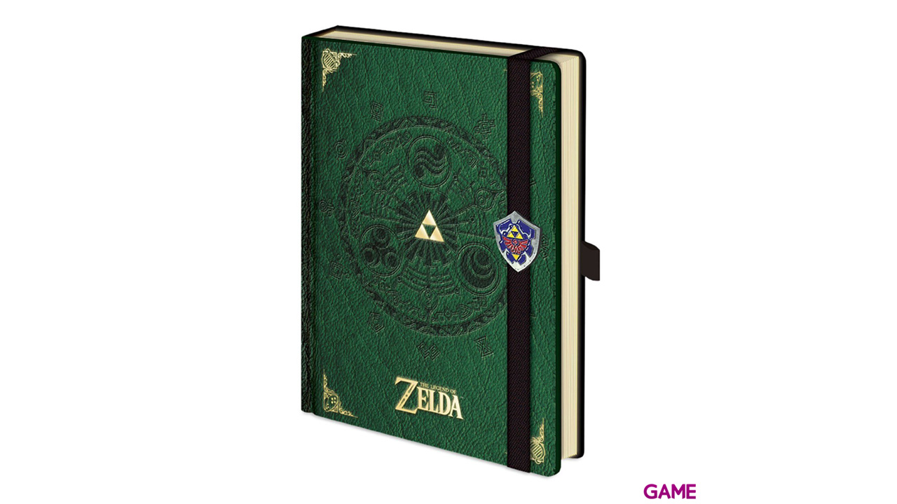 Libreta A5 The Legend of Zelda Deluxe