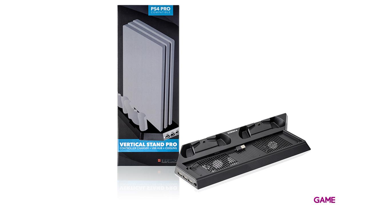 Torre De Juegos Cargador Mando Ps4 Indeca Playstation 4 Game Es