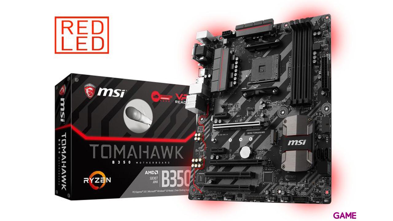 MSI B350 Tomahawk AM4 ATX