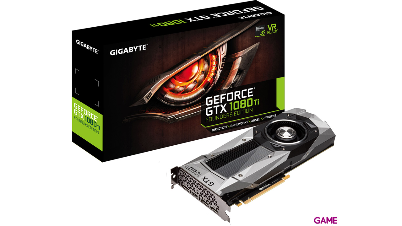 Gigabyte GeForce GTX 1080 Ti Founders Edition 11GB