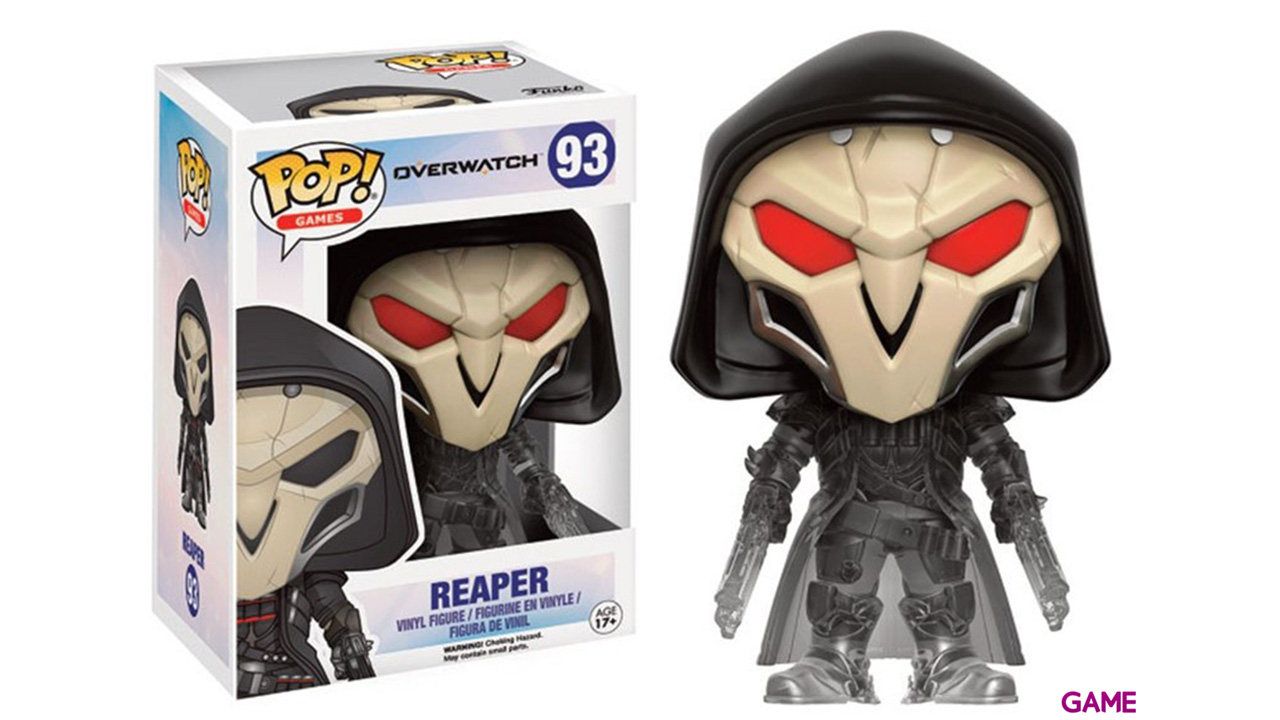 Figura Pop Overwatch Reaper Edicion Limitada