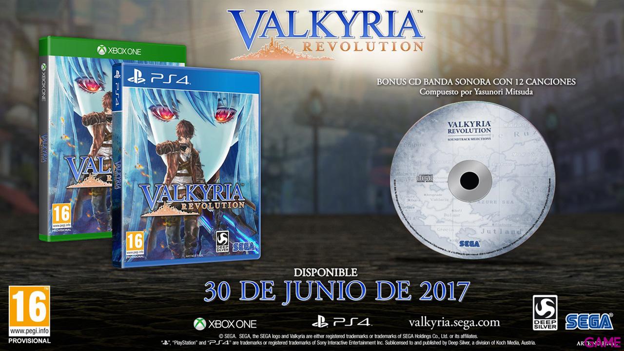 Valkyria Revolution Edición Limitada