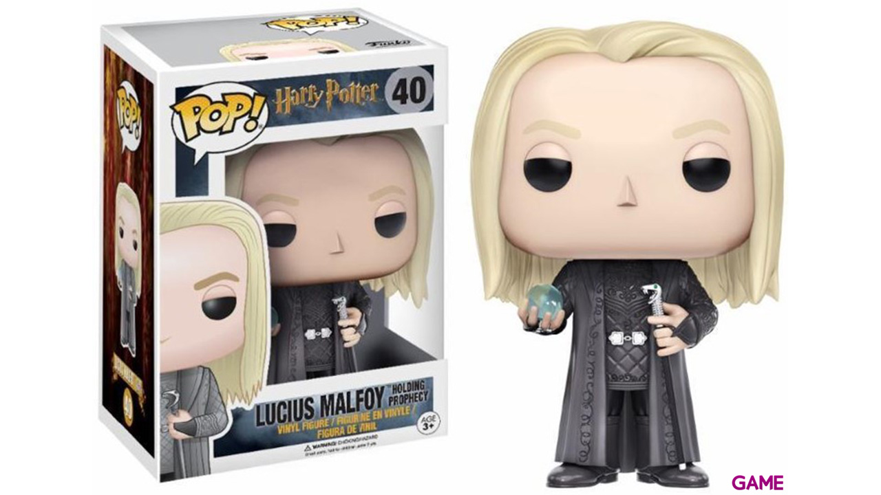 Figura Pop Harry Potter Lucius Malfoy (Prophecy)