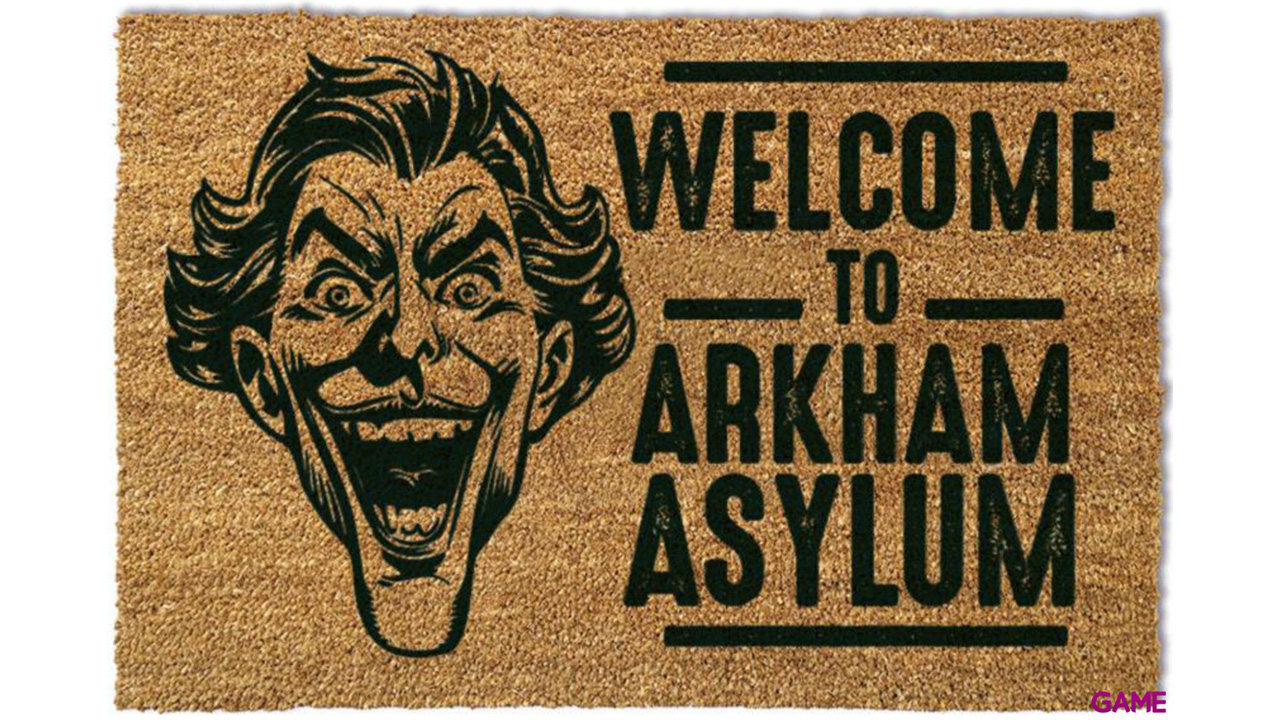 Felpudo El Joker Arkham Asylum