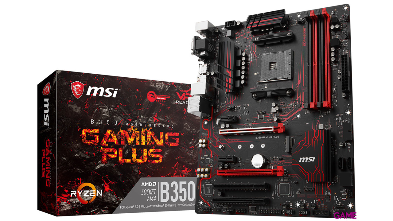 MSI X370 Gaming Plus AM4 ATX