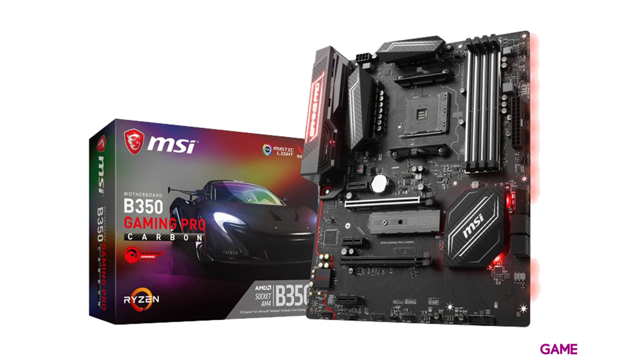 MSI B350 Gaming Pro Carbon AM4