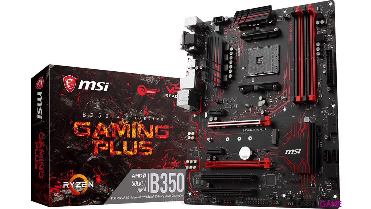 MSI B350 Gaming Plus AM4