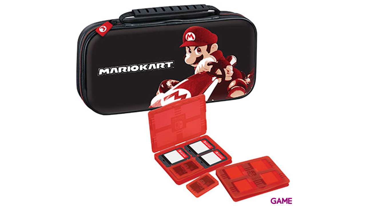 Game Traveller Deluxe Travel Case NNS50 Mario Kart -Licencia oficial-