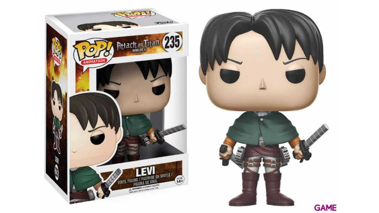 Figura Pop Ataque a los Titanes: Levie