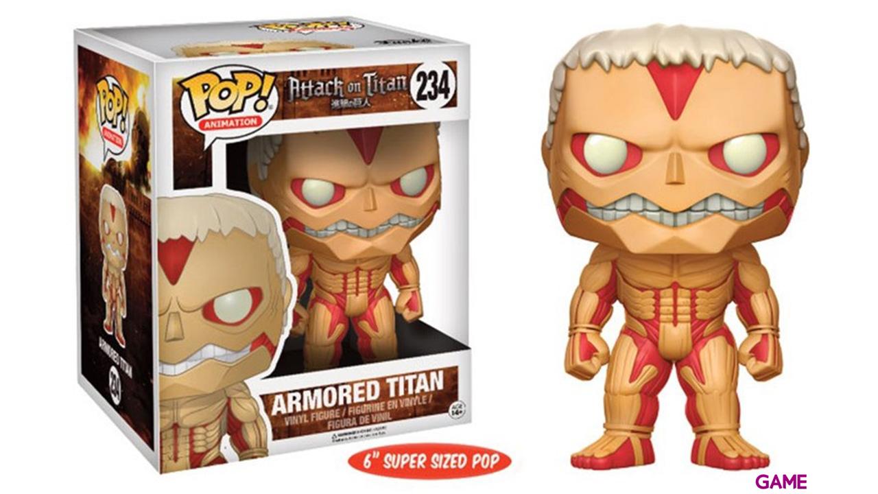 Figura Pop Ataque a los Titanes: Titán Acorazado