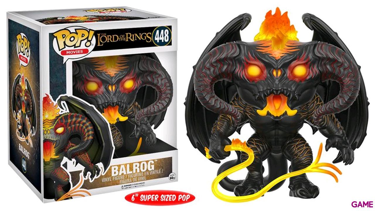 Figura Pop El Señor de los Anillos: Balrog