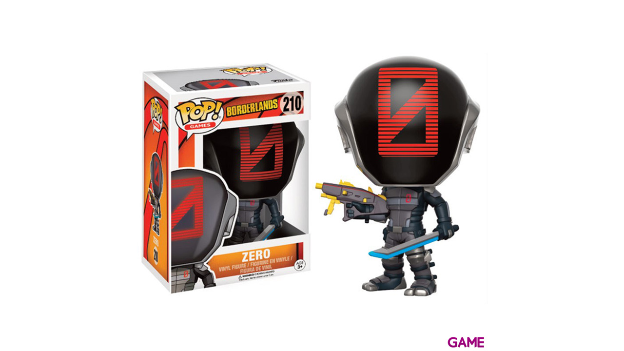 Figura Pop Borderlands: Zero