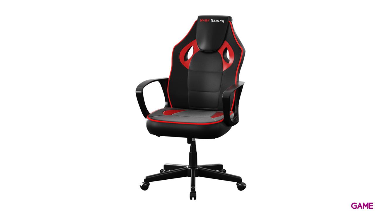 Mars Gaming MGC0BR Negro-Rojo