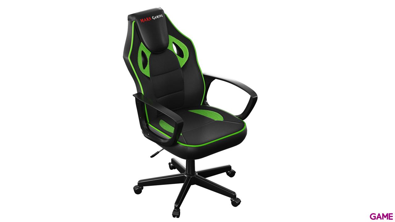 Mars Gaming MGC0BG Negro-Verde