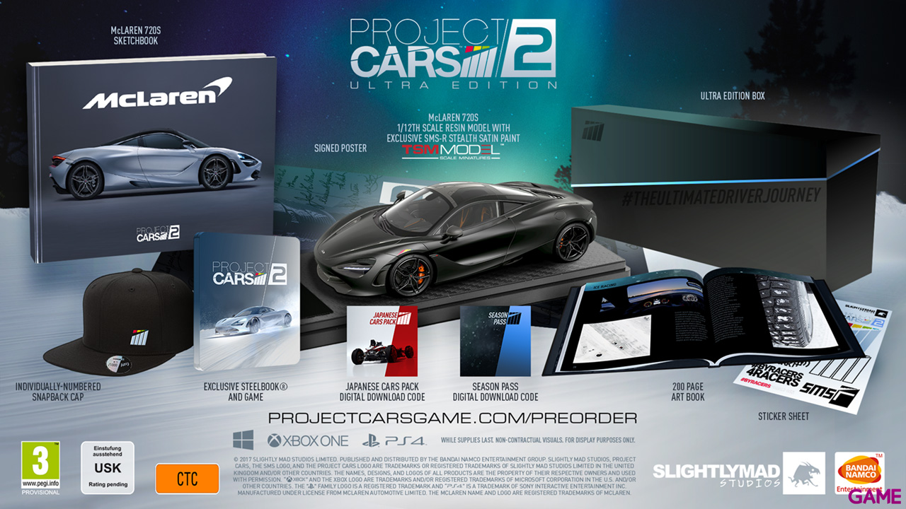 Project Cars 2 Ultra Edition