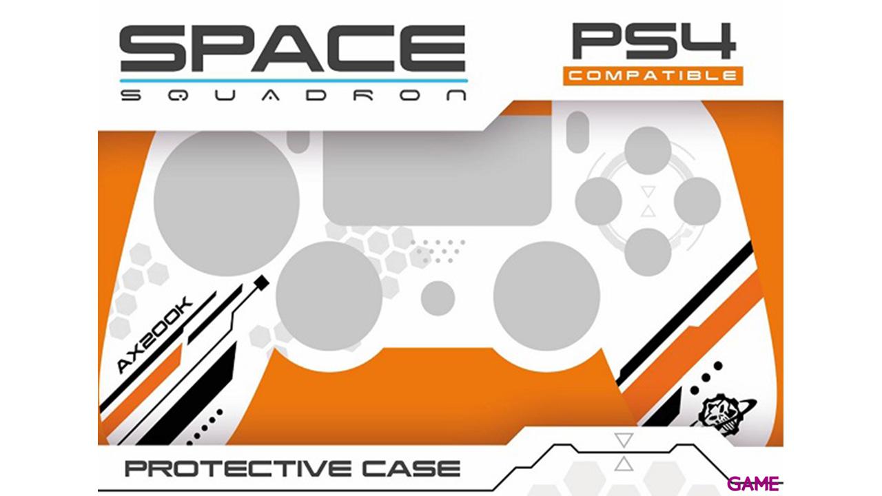 Carcasa para mando PS4 Indeca Space Squadron