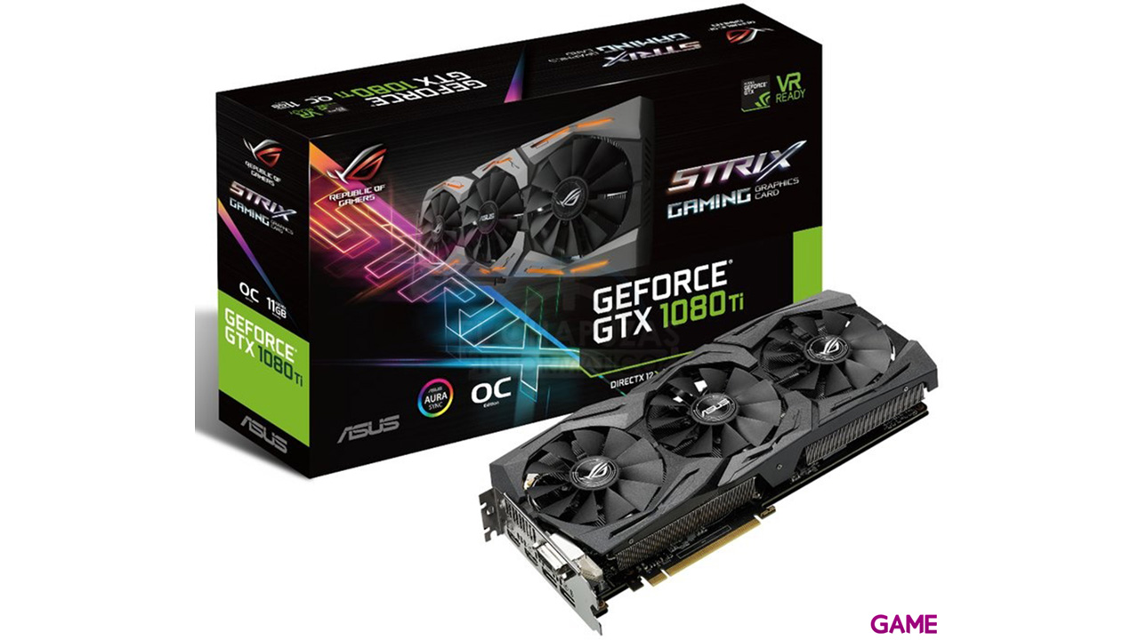Asus GeForce GTX 1080 Ti Strix 11GB