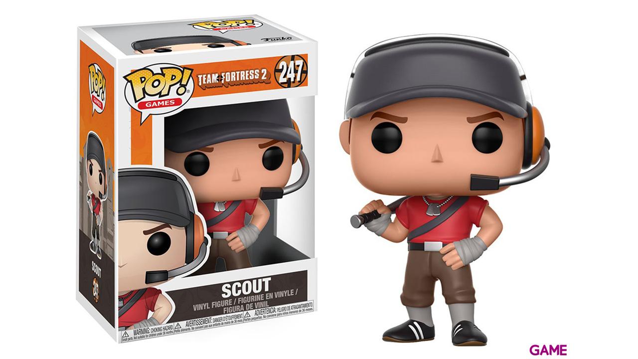 Figura Pop Team Fortress 2: Scout