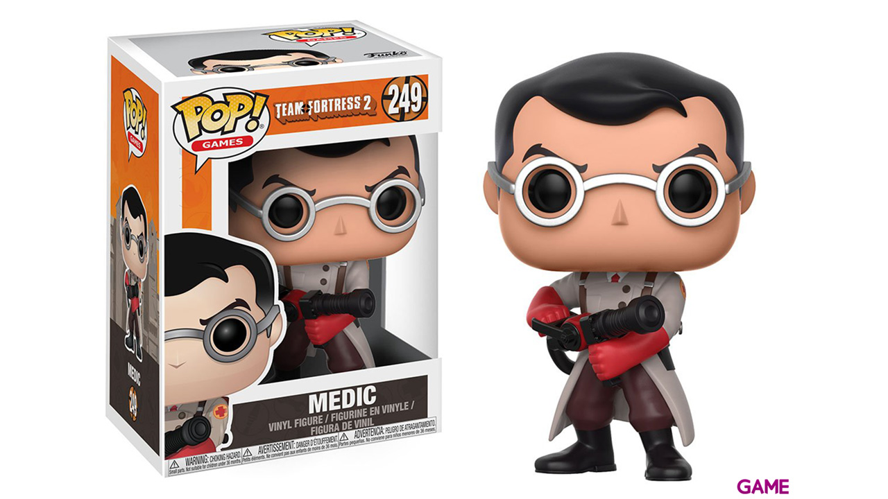 Figura Pop Team Fortress 2: Medic