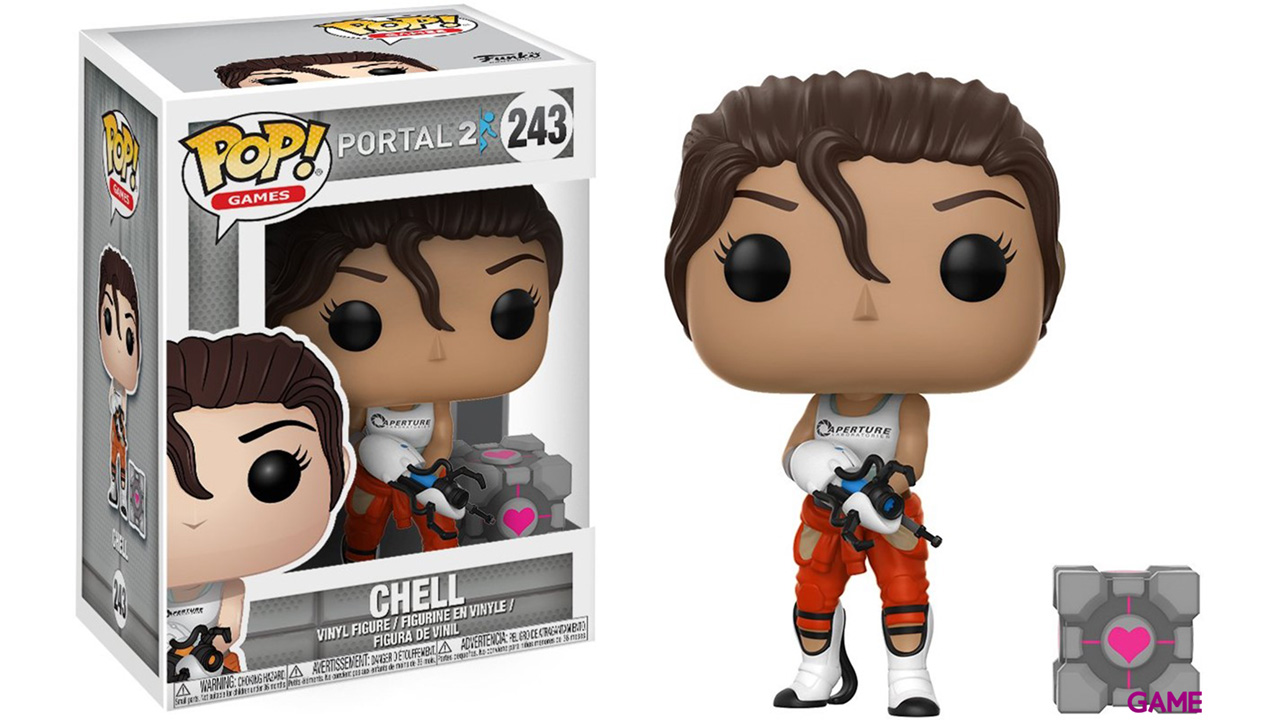 Figura Pop Portal: Chell