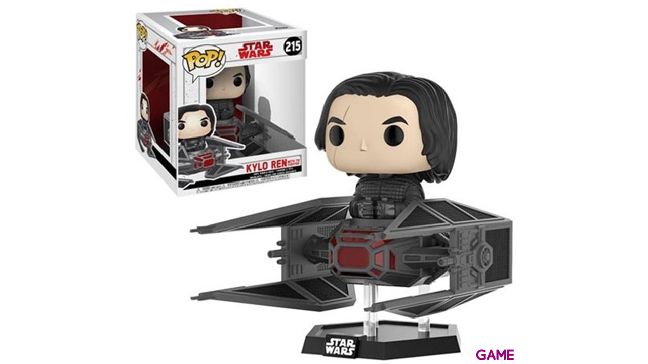 Figura Pop Star Wars: Kylo Ren en Tie Fighter