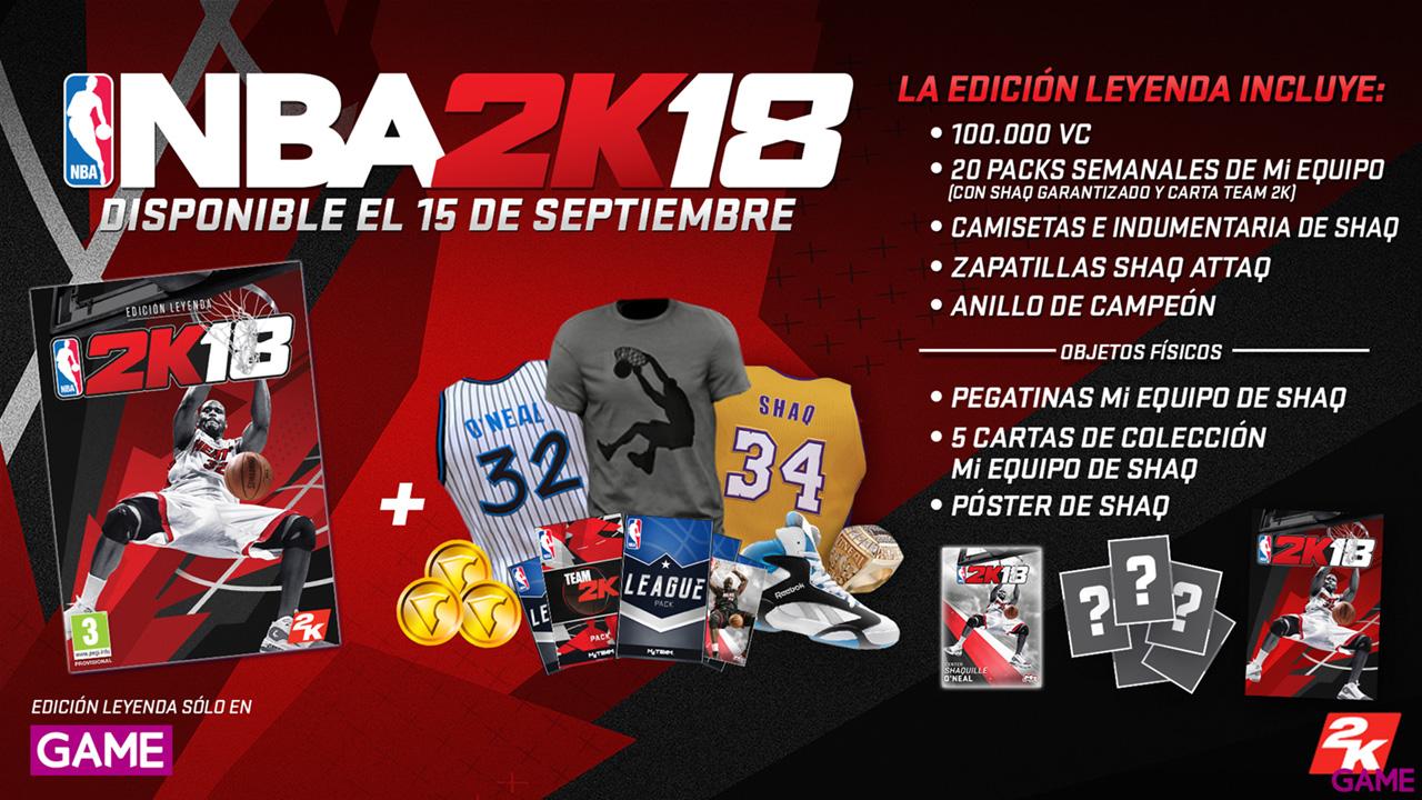NBA 2K18 Edición Leyenda