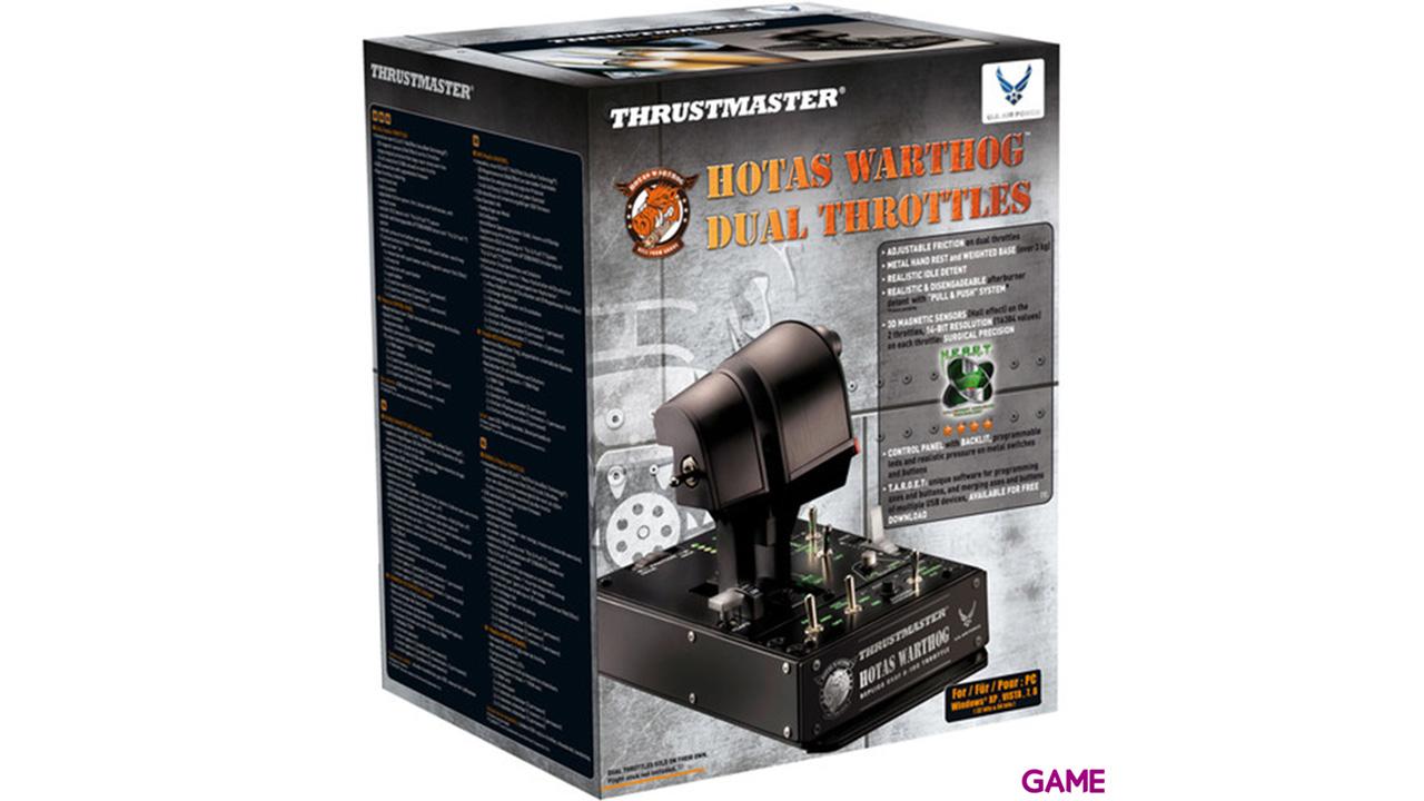 Thrustmaster Hotas Warthog Dual Throttle PC