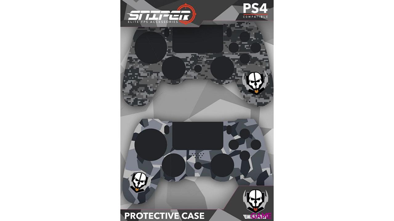 Pack de 2 Carcasas para mando PS4 Indeca Sniper 2017