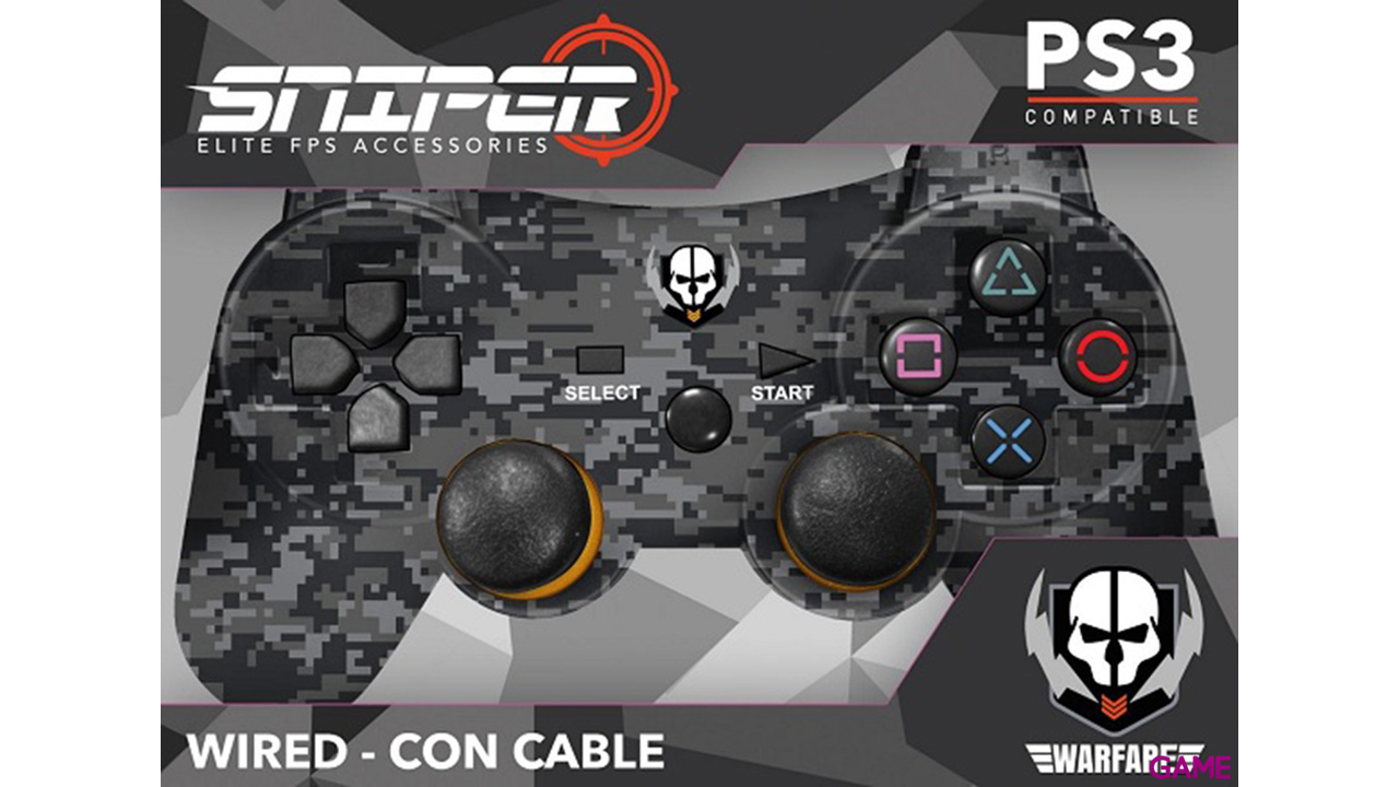Controller con Cable Indeca Sniper 2017